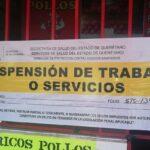 Ha suspendido la Secretaría de Salud a 61 establecimientos por incumplir medidas sanitarias