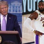 Donald Trump critica protestas en la NBA y LeBron James le responde